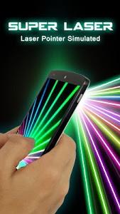 screenshot of Laser Simulated Prank version 3.0