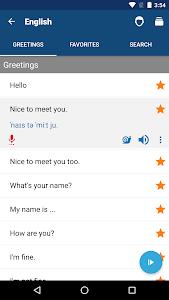 screenshot of Learn English Phrases | English Translator version Varies with device