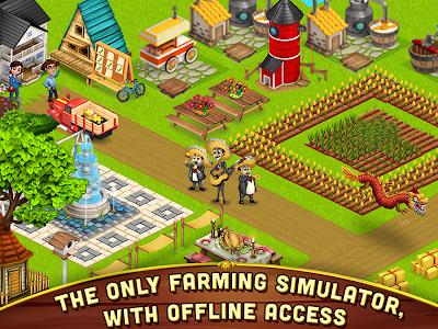 screenshot of Big Little Farmer Offline Farm version 1.4.3