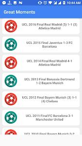 screenshot of Live Football (Full) version 1.0