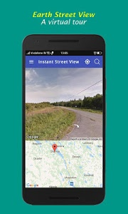 screenshot of Live Street View - Global Satellite Earth Live Map version 3.7