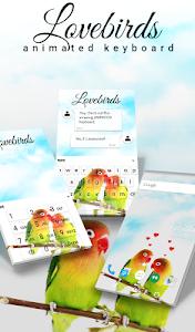 Download Lovebirds Animated Keyboard 2.09 APK