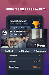 Download ManFIT – Muscle building Exercise, Home Workout 1.3.8 APK