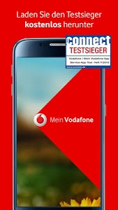 screenshot of MeinVodafone version 6.3.1