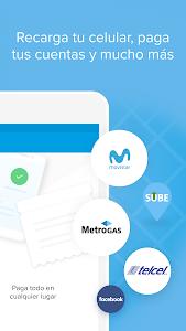 screenshot of Mercado Pago: recargar saldo y pagar cuentas version 2.52.8