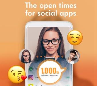 screenshot of Messenger for Social App version 1.2.6