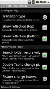 screenshot of MultiPicture Live Wallpaper version 0.6.11