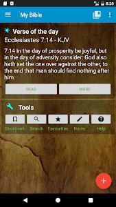 screenshot of My Bible version 1.4