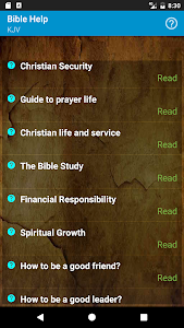 screenshot of My Bible version 1.6