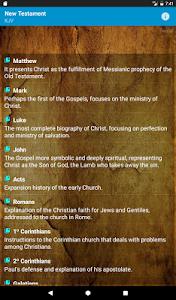 screenshot of My Bible version 1.13
