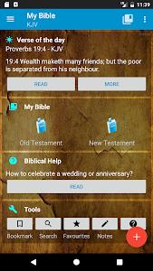 screenshot of My Bible version 1.10