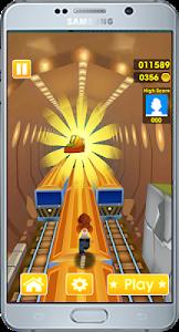 screenshot of New Subway Surf: Rush hours 2017 version 1.5