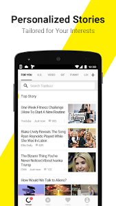 screenshot of TopBuzz:Top Video.GIFs.TV.News version 3.5.1