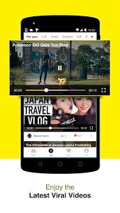 screenshot of TopBuzz:Top Video.GIFs.TV.News version 2.8.4