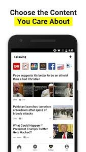 screenshot of TopBuzz:Top Video.GIFs.TV.News version 3.3.5