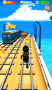 Download Ninja Subway Surf: Rush Run In City Rail 5 APK