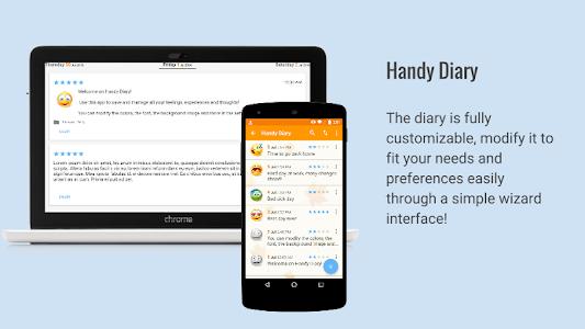 screenshot of Diary with lock password version 3.4.3