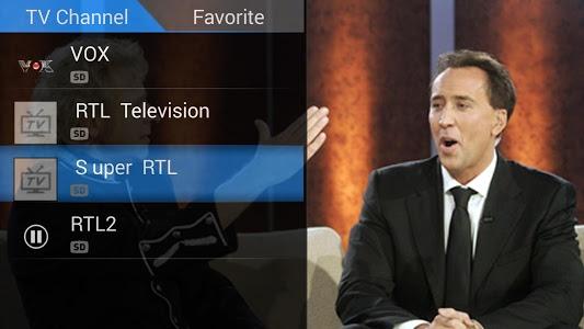 screenshot of PadTV HD version 2.2.0.11