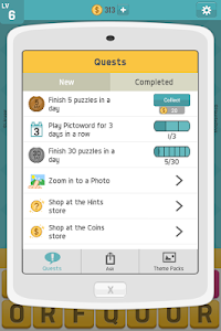 screenshot of Pictoword: Fun Word Games, Offline Word Brain Game version 1.8.3