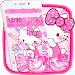 Download Pink Princess Kitty Theme 1.1.2 APK