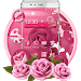 Pink Rose Mobile Theme
