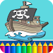 Download Pirates Coloring Pages  APK