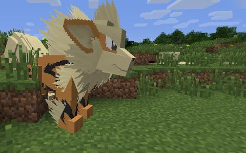 screenshot of Pixel.mon Mod for Minecraft version 1.0