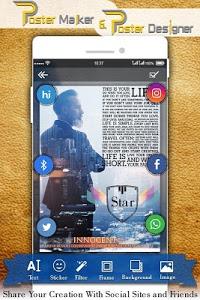 screenshot of Poster Maker & Poster Designer version 1.3