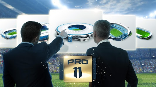 screenshot of Pro 11 - Soccer Manager Game version 1.0.45