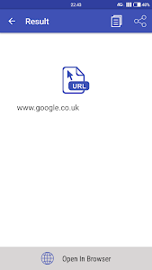 screenshot of QR Scanner & Barcode Scanner 2019 version 1.8.7