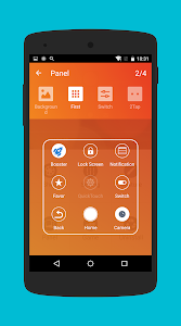 screenshot of QuickTouch(ios iphone touch) version 6.1.0
