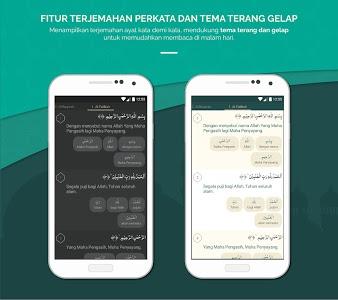 screenshot of Al Quran Indonesia version 2.6.30