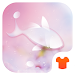 Download Rain Drops Theme - Love Pink Flower 1.0.1 APK