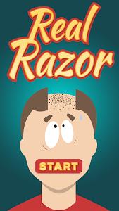 screenshot of Real Razor (Prank) version 1.5.8
