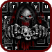 Download Red Blood Skull Guns keyboard theme 10001002 APK