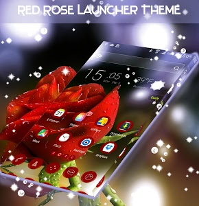 Download Red Rose Launcher Theme 1.264.1.30 APK
