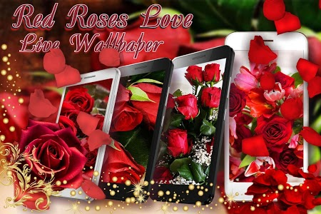 Download Red Roses Love Live Wallpaper 1 7 Apk Downloadapk Net