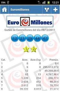 screenshot of Resultados Loterias y Apuestas version 46