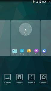 screenshot of S Launcher (Galaxy S7 Launcher version 4.4