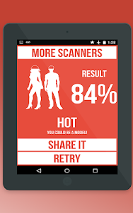 screenshot of Sexy Hot Detector Prank version Varies with device