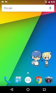 screenshot of Shimeji version 2.0