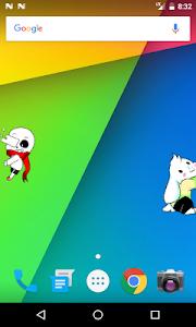 screenshot of Shimeji version 2.2