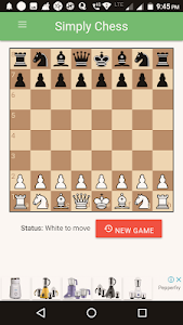 screenshot of Simply Chess version 1.1.0