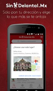 screenshot of SinDelantal Comida a Domicilio version 4.2.4