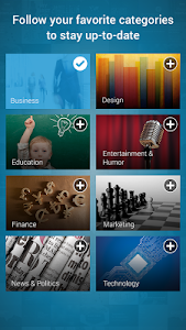 screenshot of SlideShare Presentations version 1.5.1