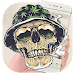 Download Smoking Warrior Helmet Skull Theme 1.1.1 APK
