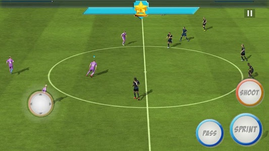 screenshot of World League Real Soccer version 1.1