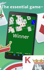 screenshot of Solitaire version 3.10.0