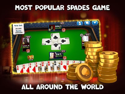 screenshot of Spades Plus version 1.13.1