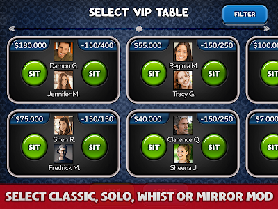 screenshot of Spades Plus version 3.25.1